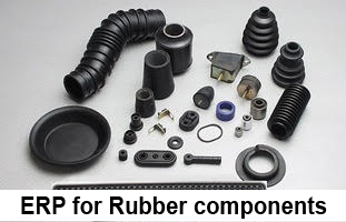ERP for Rubber components