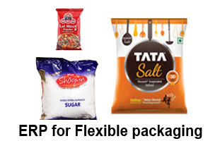 ERP for Flexible packaging