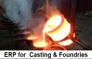 ERP for  Casting & Foundries